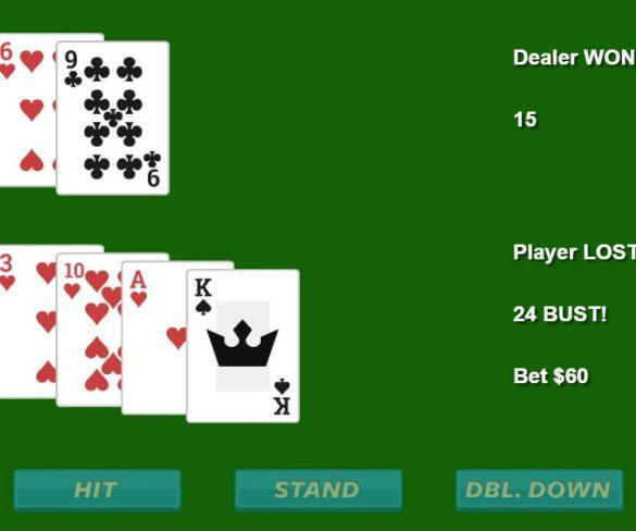 Online Black-jack Game Enjoyment Than Offline Casino Blackjack