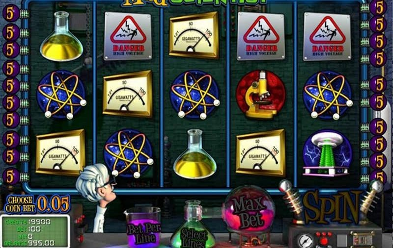 Special Animated Mad Scientist Online Slot For You